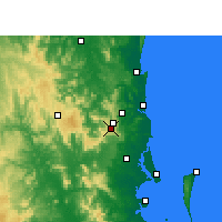 Nearby Forecast Locations - Maleny - Carte