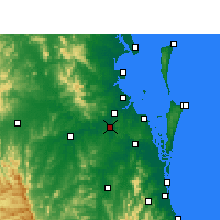 Nearby Forecast Locations - Archerfield - Carte