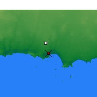 Nearby Forecast Locations - Esperance - Carte
