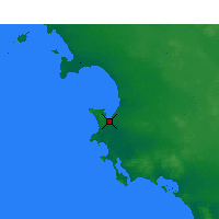 Nearby Forecast Locations - Streaky Bay - Carte
