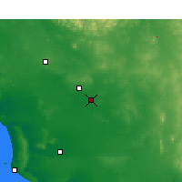 Nearby Forecast Locations - Kyancutta - Carte