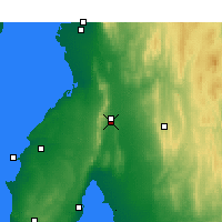 Nearby Forecast Locations - Snowtown - Carte