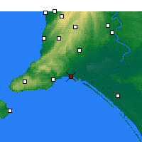 Nearby Forecast Locations - Hindmarsh Isl. - Carte