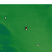 Nearby Forecast Locations - Lameroo - Carte
