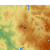 Nearby Forecast Locations - Orange - Carte