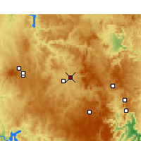 Nearby Forecast Locations - Bathurst - Carte