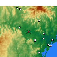 Nearby Forecast Locations - Singleton - Carte