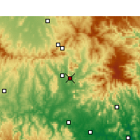 Nearby Forecast Locations - Scone - Carte