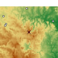 Nearby Forecast Locations - Nullo Mount. - Carte