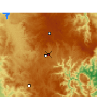 Nearby Forecast Locations - Armidale - Carte
