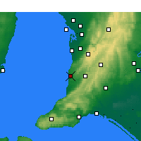Nearby Forecast Locations - Noarlunga - Carte