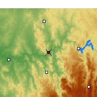 Nearby Forecast Locations - Gundagai - Carte