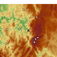 Nearby Forecast Locations - Khancoban - Carte