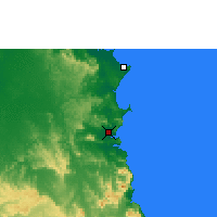Nearby Forecast Locations - Cooktown - Carte