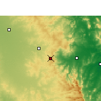 Nearby Forecast Locations - Toowoomba - Carte