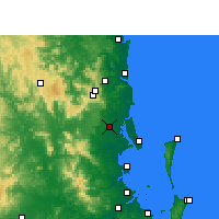 Nearby Forecast Locations - Beerburrum - Carte