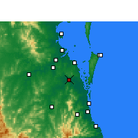 Nearby Forecast Locations - Loganholme - Carte