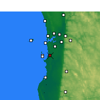 Nearby Forecast Locations - Medina - Carte