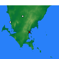 Nearby Forecast Locations - Port Lincoln - Carte