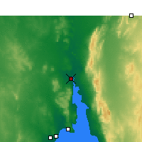 Nearby Forecast Locations - Port Augusta - Carte
