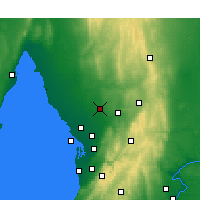 Nearby Forecast Locations - Roseworthy - Carte