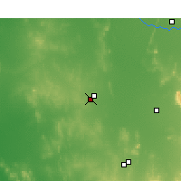Nearby Forecast Locations - West Wyalong - Carte