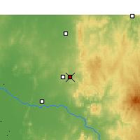 Nearby Forecast Locations - Parkes - Carte