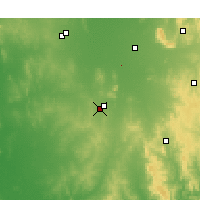 Nearby Forecast Locations - Temora - Carte