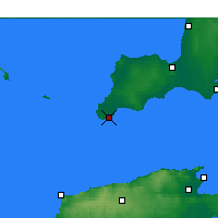 Nearby Forecast Locations - Stenhouse Bay - Carte