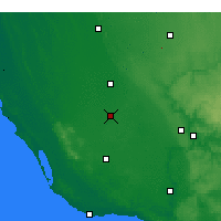 Nearby Forecast Locations - Penola - Carte