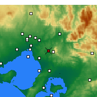 Nearby Forecast Locations - Scoresby - Carte