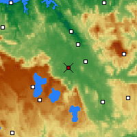 Nearby Forecast Locations - Cressy - Carte