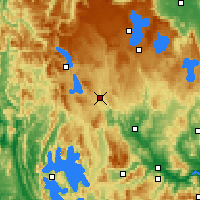 Nearby Forecast Locations - Tarraleah - Carte