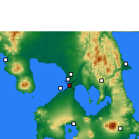 Nearby Forecast Locations - Manille - Carte