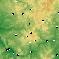 Nearby Forecast Locations - Siegen - Carte