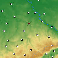 Nearby Forecast Locations - Döbeln - Carte