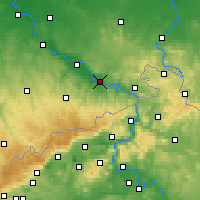 Nearby Forecast Locations - Pirna - Carte
