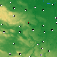 Nearby Forecast Locations - Eisleben - Carte