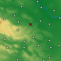 Nearby Forecast Locations - Aschersleben - Carte