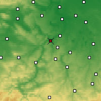 Nearby Forecast Locations - Naumbourg - Carte