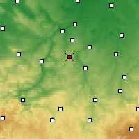 Nearby Forecast Locations - Eisenberg - Carte
