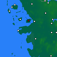 Nearby Forecast Locations - Nordstrand - Carte