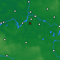Nearby Forecast Locations - Teltow - Carte