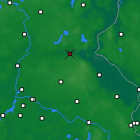 Nearby Forecast Locations - Eberswalde - Carte