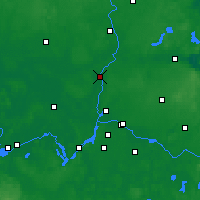 Nearby Forecast Locations - Oranienburg - Carte
