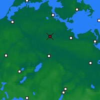 Nearby Forecast Locations - Grimmen - Carte
