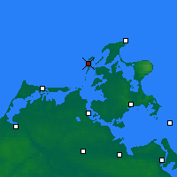 Nearby Forecast Locations - Hiddensee - Carte