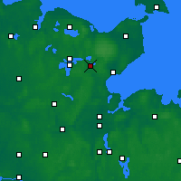 Nearby Forecast Locations - Eutin - Carte