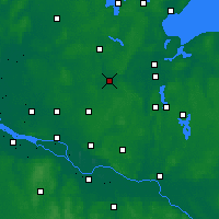 Nearby Forecast Locations - Bad Oldesloe - Carte