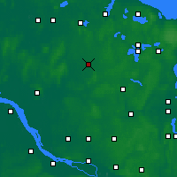 Nearby Forecast Locations - Neumünster - Carte